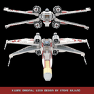 LEGO X-Wing original design by Steve Iuliano AwesomeClub Wallpaper 16 x 9.png