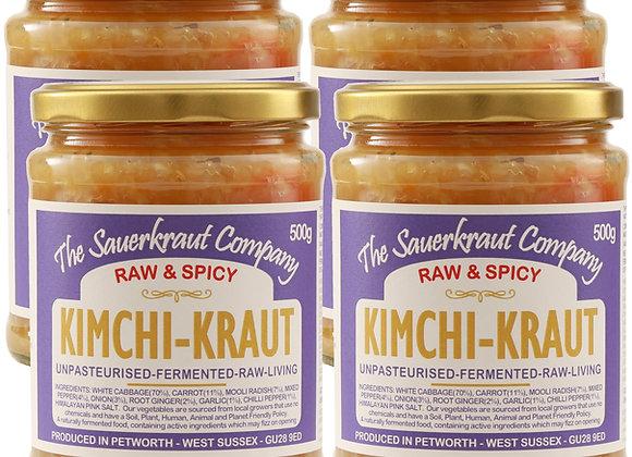 Barrel Aged Fermented Kimch-Kraut (4x500g) Unpasteurised