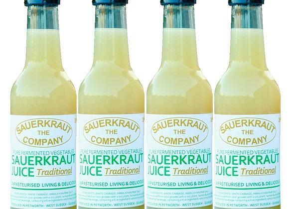 Sauerkraut Juice (4 x 260ml)