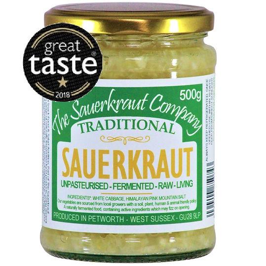 Traditional Sauerkraut from The Sauerkraut Company