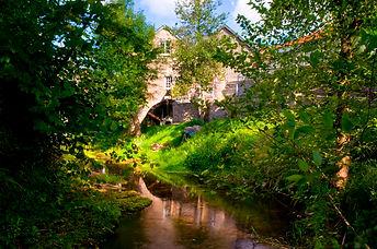 Talgarth Mill, Working water mill and restaurant.