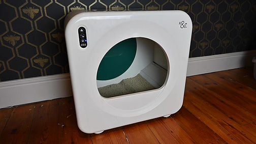 How to use the LitterPod to fully empty the litter tray.