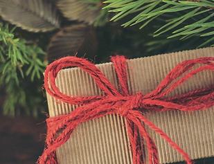 Handfairlesen less waste Weihnachten Verpackung