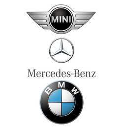 Mini Mercedes BMW