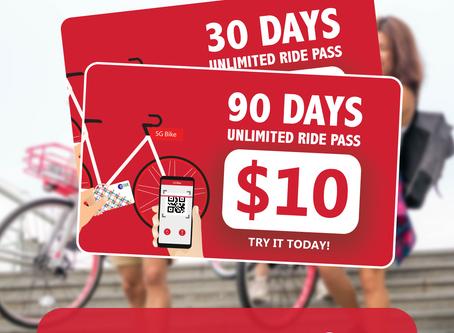 Launch of SG Bike Ride Pass
