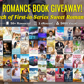 Enter to Win 50+ Sweet Romance Novels and 1 e-Reader