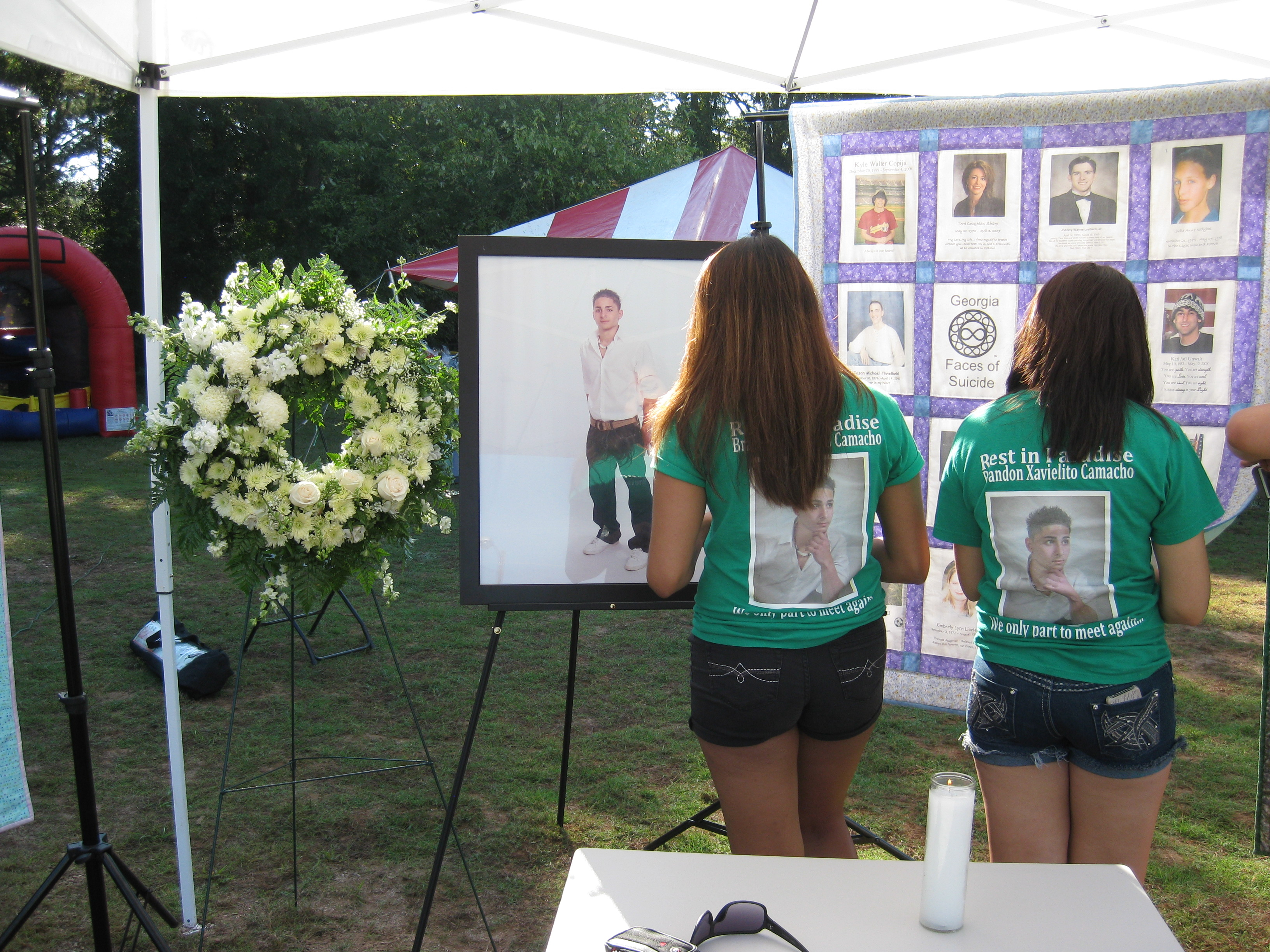 In their memory...Our love