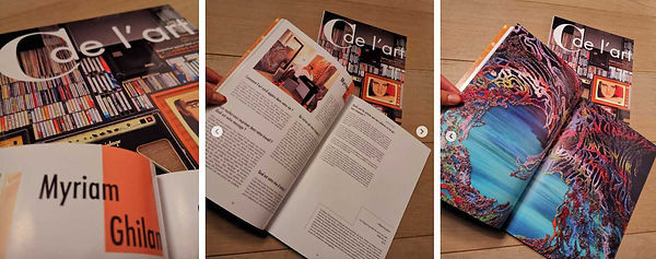 Myriam Ghilan C de lart magazine.jpg
