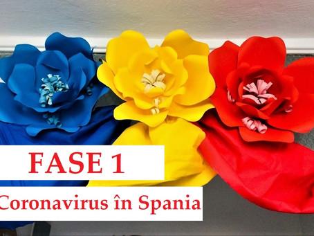 Coronavirus în Spania | Fase 1