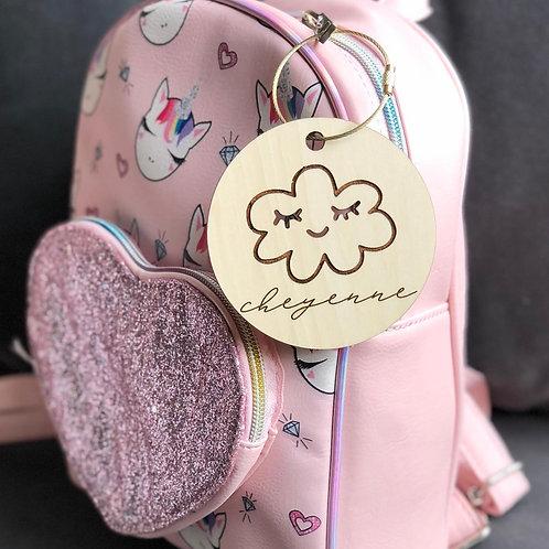 Cloud Backpack Tag