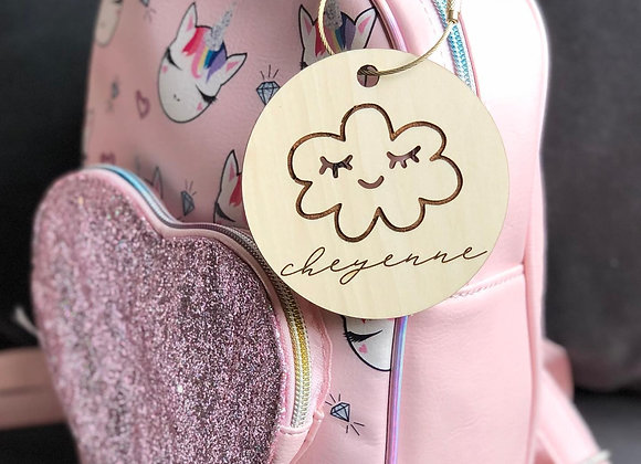 Cloud Backpack Tag