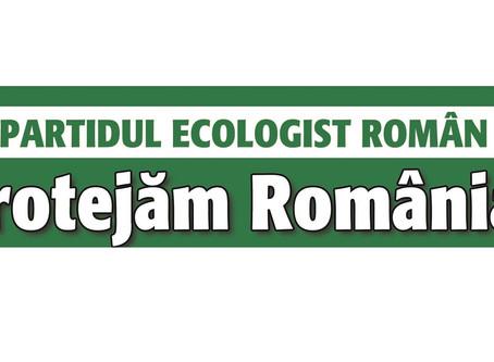 Comunicat de presă - Partidul Ecologist Român