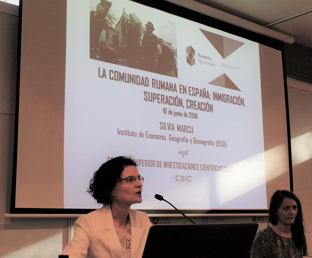 CSIC | Doctora Silvia Marcu