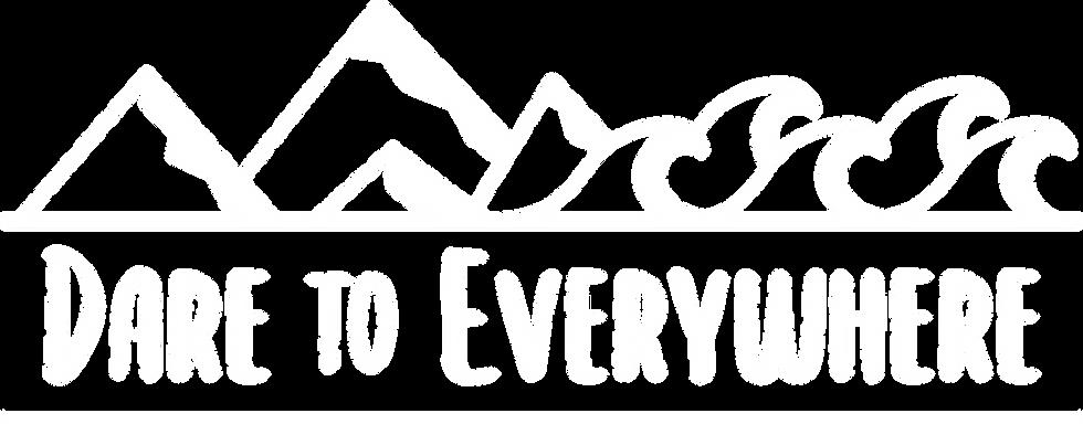 Dare to Everywhere Logo Horizontal-white