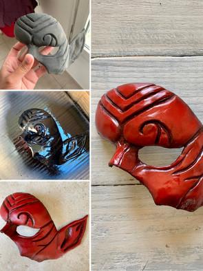 Armure masque
