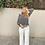 Thumbnail: Pantalón botones blanco