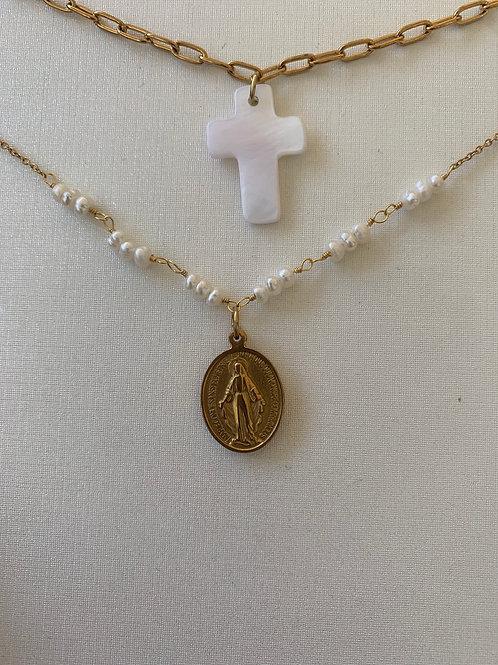 Collar Perla Milagrosa