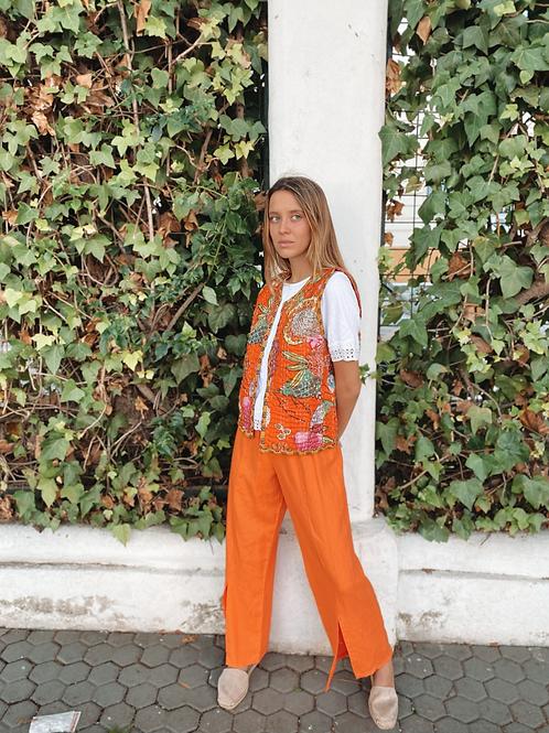 Pantalón naranja