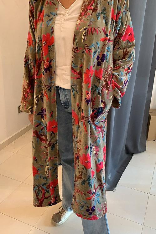 Kimono Bird taupe