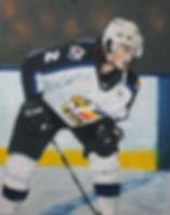 Mason Geertsen plays defense for AHL team Colorado Eagles 2019