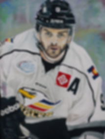 Kevin Ulanski is assistant captain of the Colorado Eagles.