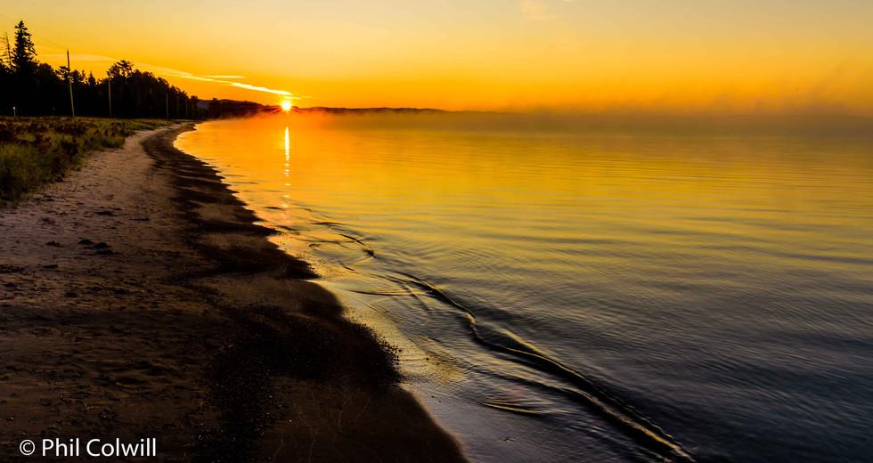 BATACHAWANA BAY SUNRISE
