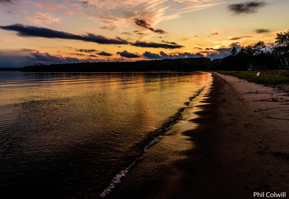 BACHEWANA BAY SUNSET