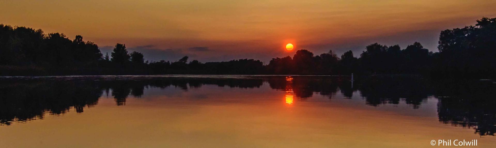 MERRICKVILLE BASIN SUNSET
