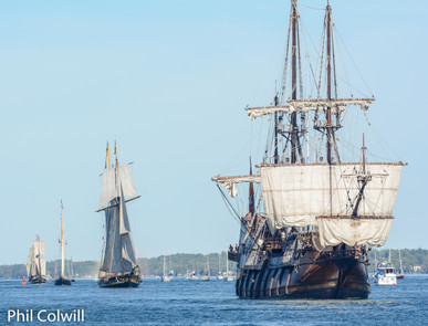 EL GALEON, PRIDE OF BALTIMORE, WHEN AND IF, AND MIST OF AVALON