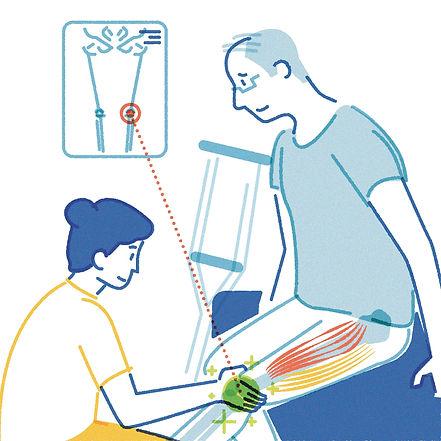 Physiotherapy, Rehabilitation, X-ray, Knee Injury