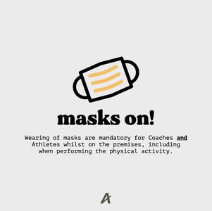 Masks on!