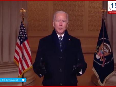 Sepulta Biden en horas legado de Trump con 17 acciones
