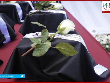 Repatrian otras cinco urnas de migrantes poblanos muertos por Covid-19