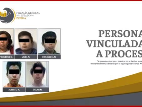 A la cárcel cinco por posesión de droga en Puebla