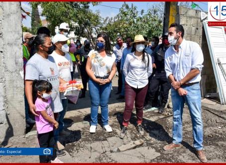 """80 familias de Texmelucan son beneficiarias del programa """"Hacer vivienda, Hacer futuro"""""""
