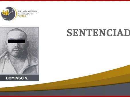 Sentencian a 21 años de cárcel a hombre por homicidio en Atlixco