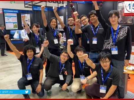 Gana mexicano concurso de robótica en Japón