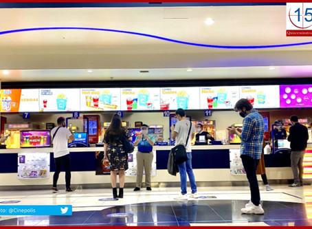 Sin fecha para reapertura de cines en Puebla