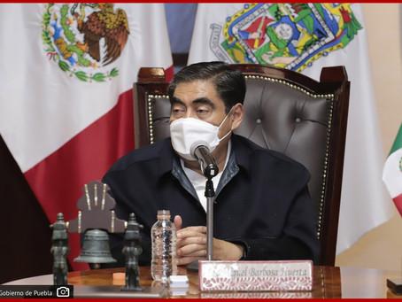 Es una prioridad para la federación culminar la reconstrucción en Puebla por el 19-S: MBH
