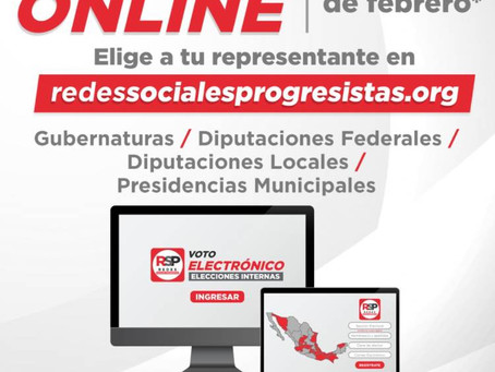 Elegirán poblanos a los precandidatos de RSP a San Lázaro