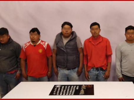 Capturados presuntos asaltantes de granjas en Tepanco