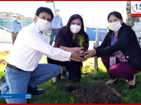 Ángel Flores adopta para Xoxtla mil árboles