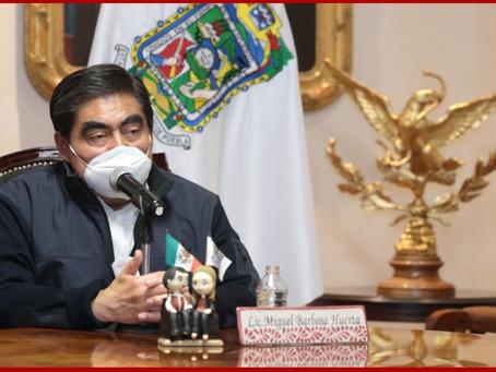 En Puebla se otorga atención médica a la sociedad en general: Barbosa