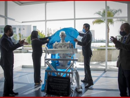 Develan escultura a Don Cuco: primer robot mexicano con inteligencia artificial