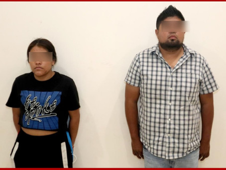 """Detienen a presuntos integrantes de """"Sureños Crazy Raiders"""""""