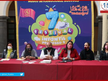 "Presenta Cultura 7º Festival Infantil ""PROCESSO 4"""