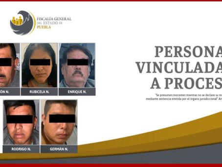 Suman cinco vinculados a proceso por balacera en Eloxochitlán
