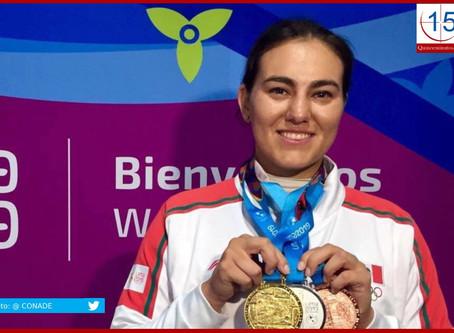 Alejandra Valencia afina puntería a Juegos Olímpicos de Tokio