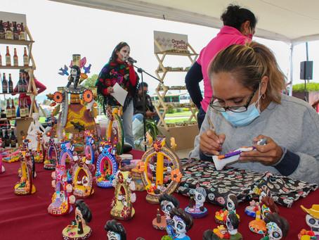 Arranca SDR Expo Venta Día de Muertos en San Andrés Cholula
