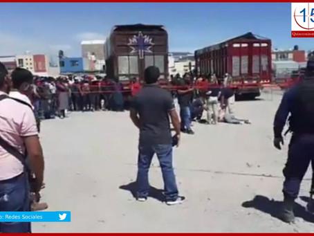 A golpes linchan a presunto ladrón en Huixcolotla